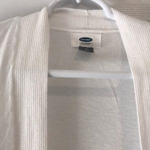 Old Navy Sweaters - Basic White Cardigan